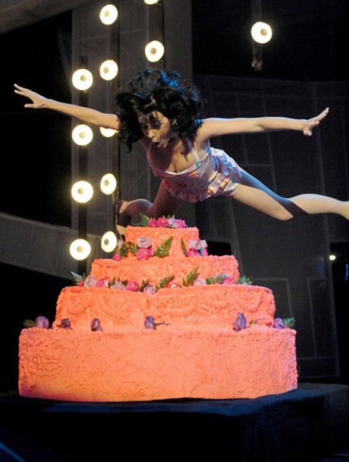 Katy Perry Takes The Cake
