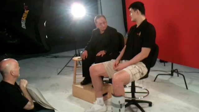 Yao Ming Resurfaces To Preview A Sad, Sad Video Shoot