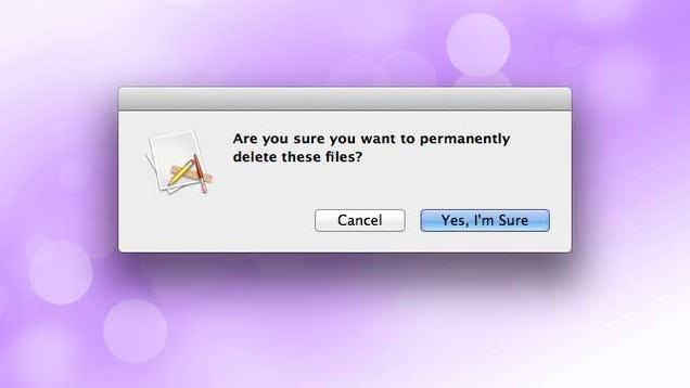 how to delete select items in trash mac in yosemite