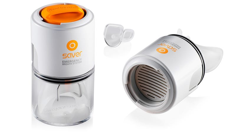 This Tiny Mask Provides 5 Minutes of Filtered Air For Emergency Escapes