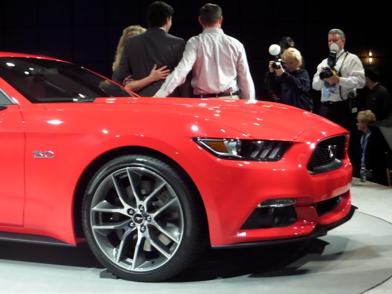 The 2015 Ford Mustang Looks Much Better In Person