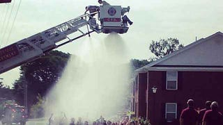 Firefighters Shocked by Power Line While Performing Ice Bucket Challenge