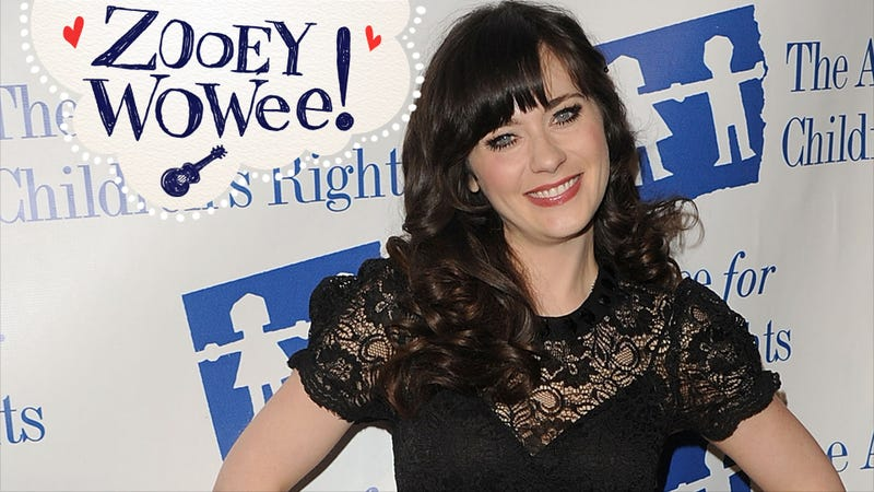 Zooey Deschanel Whimsical