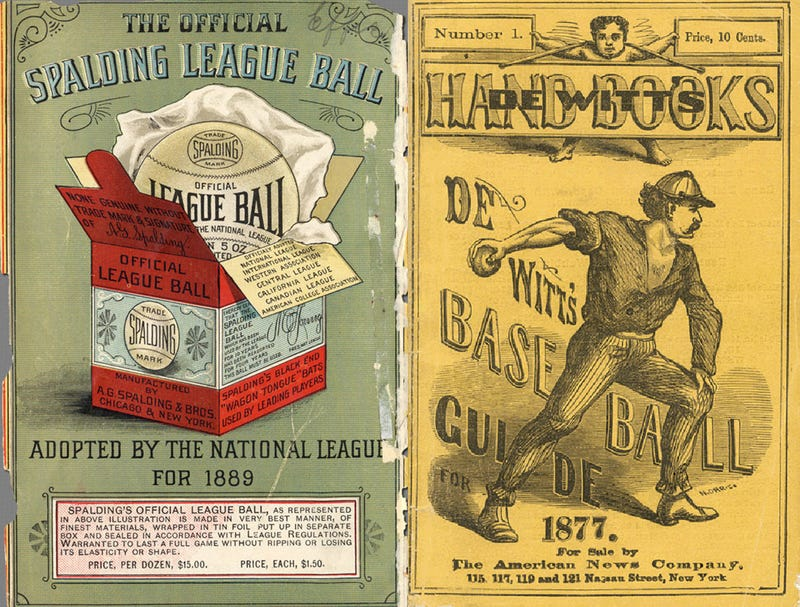 The Forgotten History of Baseball's Most Iconic Objects