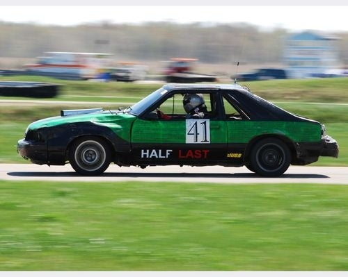 Day One Of Racing Finished, Ectomobile Volvo Wagon In Top Ten