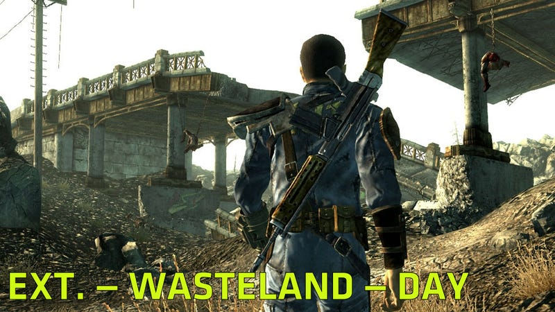 See the Story Treatment for the Aborted Fallout Movie