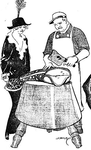 In 1913, newspapers predicted we'd be eating giant radioactive frog steaks
