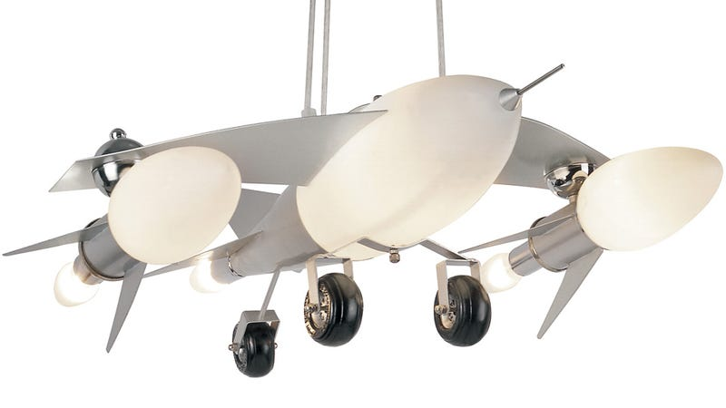 Fighter Jet Lamp Carpet Bombs Any Room With Light