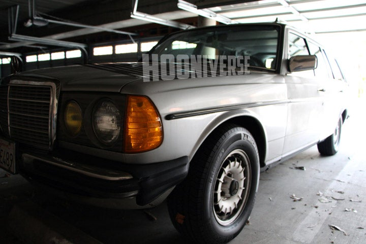 "The ""new"" Hooniverse Project Car: '84 Benz 300TD aka The Wombat"