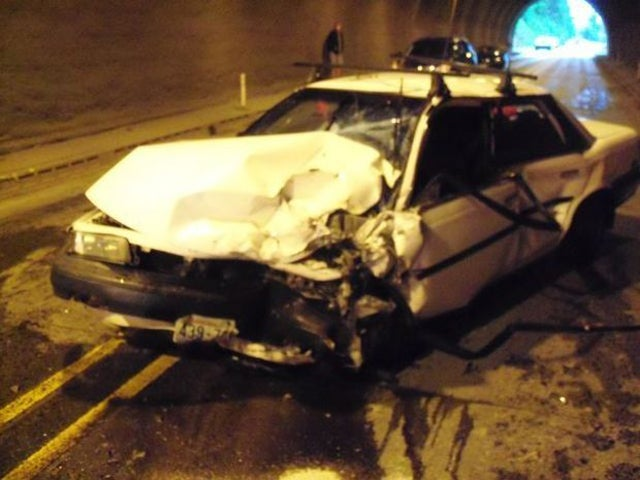 Teen Holds Breath Driving Through Tunnel, Passes Out, Crashes