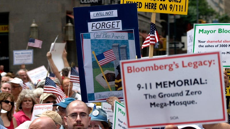 NYPD Had Plant in Pro-'Ground Zero Mosque' Protests