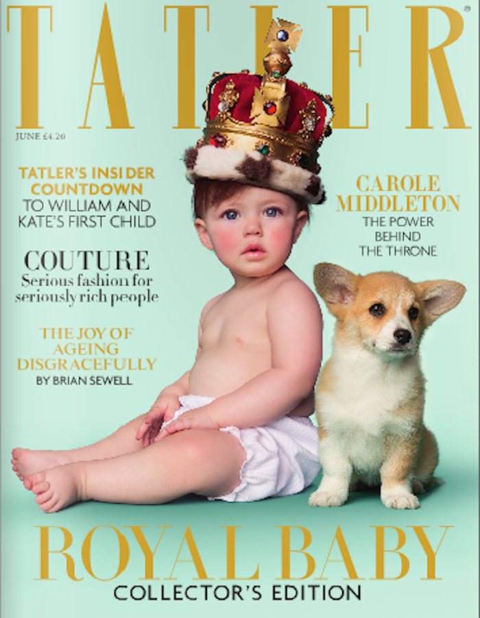 Tatler Puts Cart Ahead of Horse to Get That Royal Baby Special
