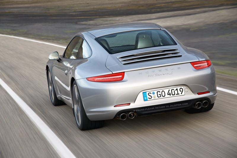 2012 Porsche 911: This is it