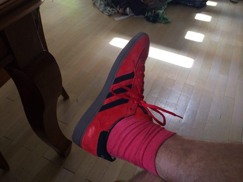 Szily László piros cipőt vásárolt magának Amerikában