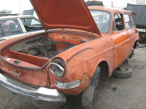 1971 Volkswagen Squareback Down On The Junkyard
