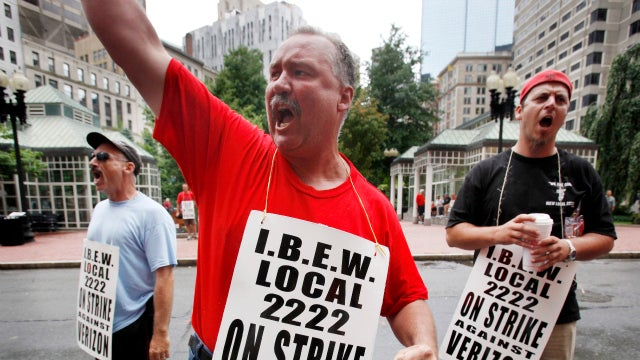 Striking Verizon Employees Going Back to Work