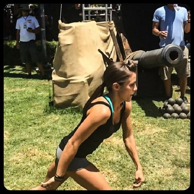 Watch US Ninja Warrior Kacy Catanzaro Run The ACreed Experience