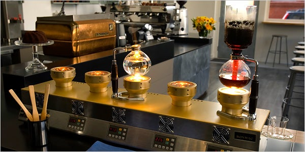 The Siphon Bar Pours a $20,000 Cup of Coffee