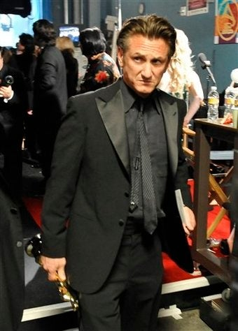 Madonna & Jesus Have Rough Run-In With Sean Penn