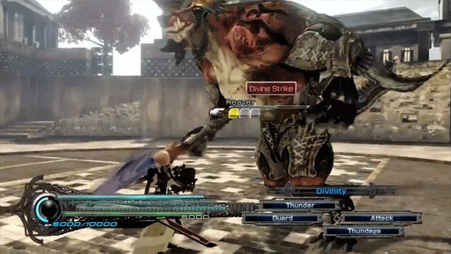 6 GIFs From That Semi-New Lightning Returns: Final Fantasy XIII Trailer