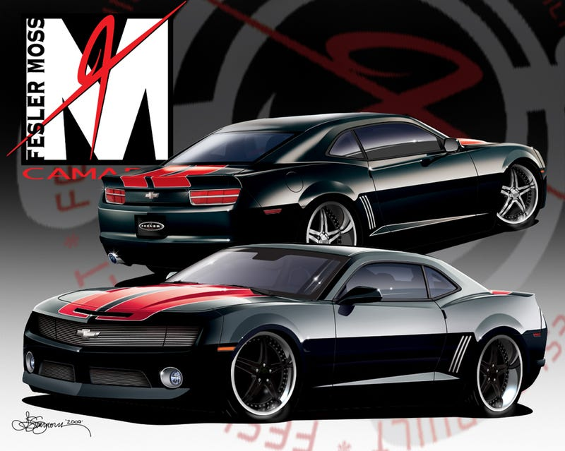 Fesler-Moss Builds A Corvette ZR1-Powered Camaro SS