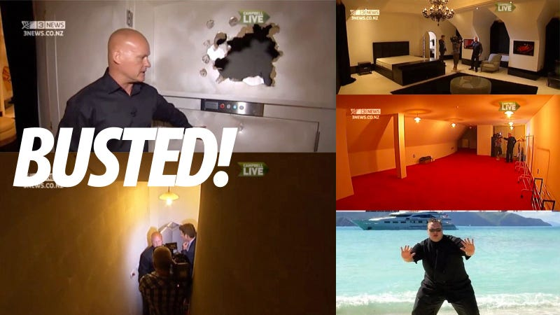 How Special Forces Busted Into Kim Dotcom's Mansion