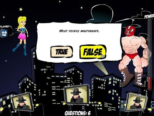 Canadian Sex Ed Game Stars Captain Condom, Wonder Vag