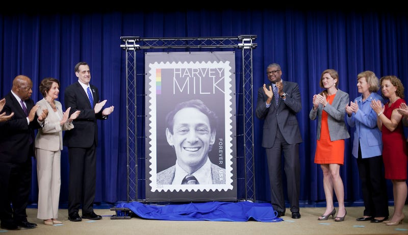 Anti-Gay Christian Group Vows to Refuse Mail with Harvey Milk Stamp
