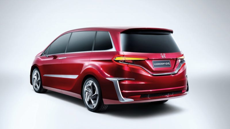 The Honda Concept M Is The Most Terrifying Minivan I Have Ever Seen