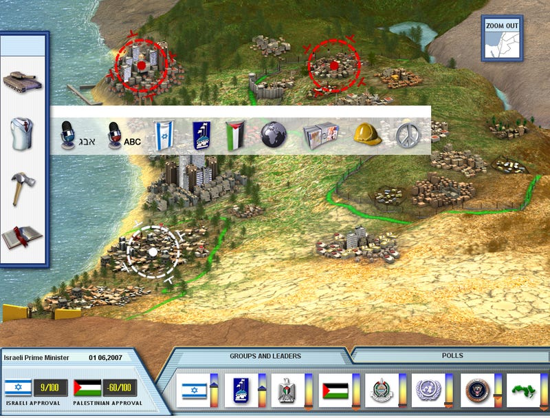 What I Learned Turning The Israel-Palestine Conflict Into A Video Game