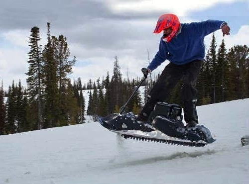 The Mattracks Powerboard Makes Anyone Shaun White On 'Roids