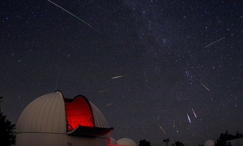 For morning viewing: 3 timelapses of last week's Perseid meteor shower