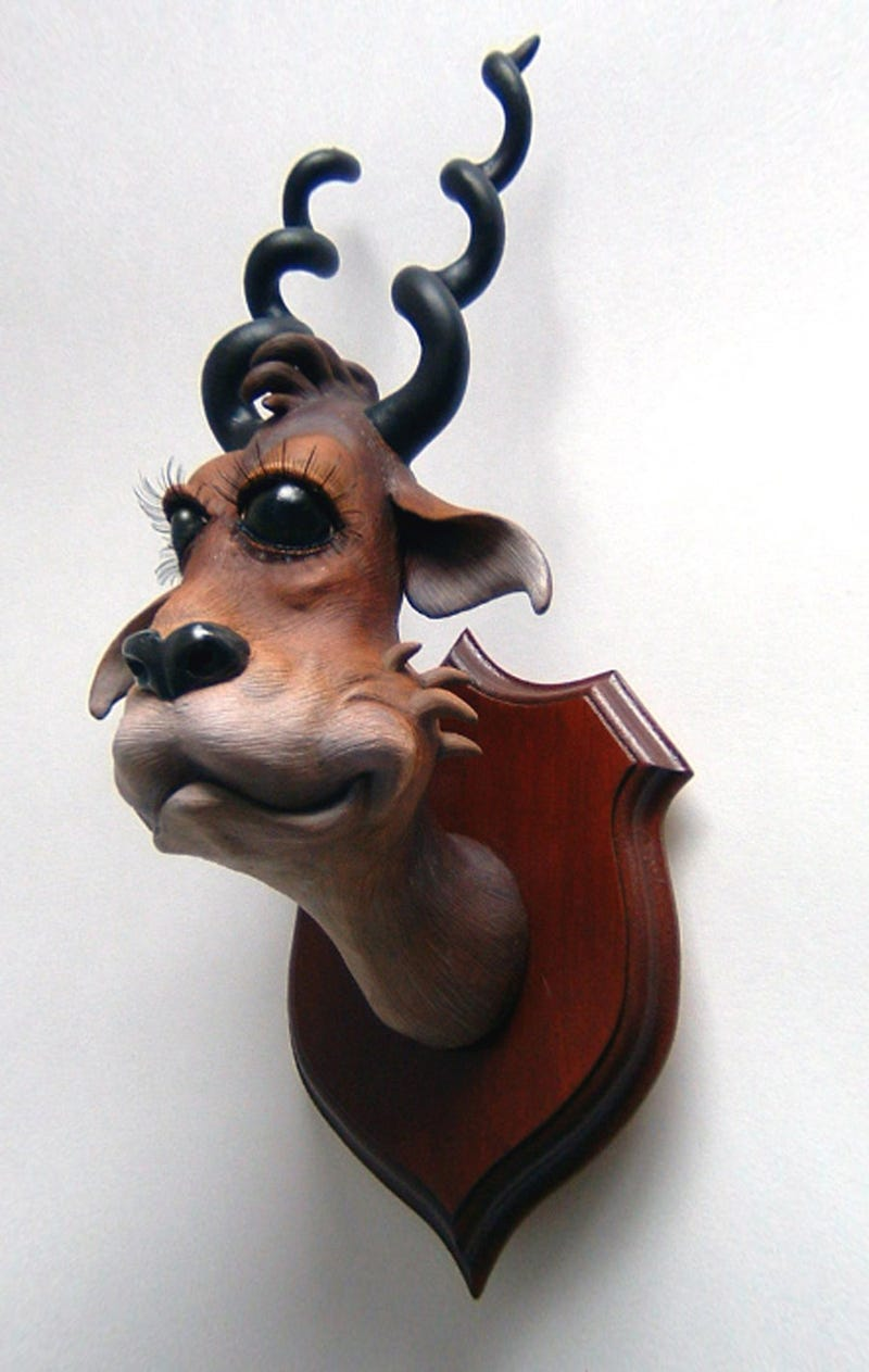 Dr. Seuss taxidermy is equal parts disturbing and charming