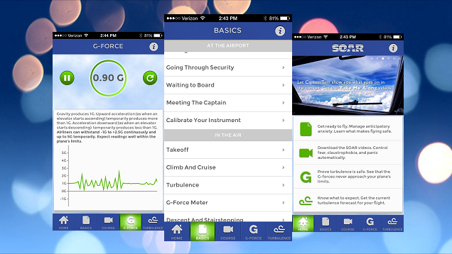 The SOAR App Provides Tools to Help You Conquer Your Fear of Flying
