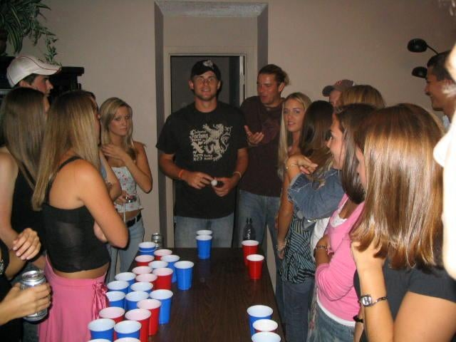 Andy Roddick's Heartbreaking Day At The Beer Pong Table