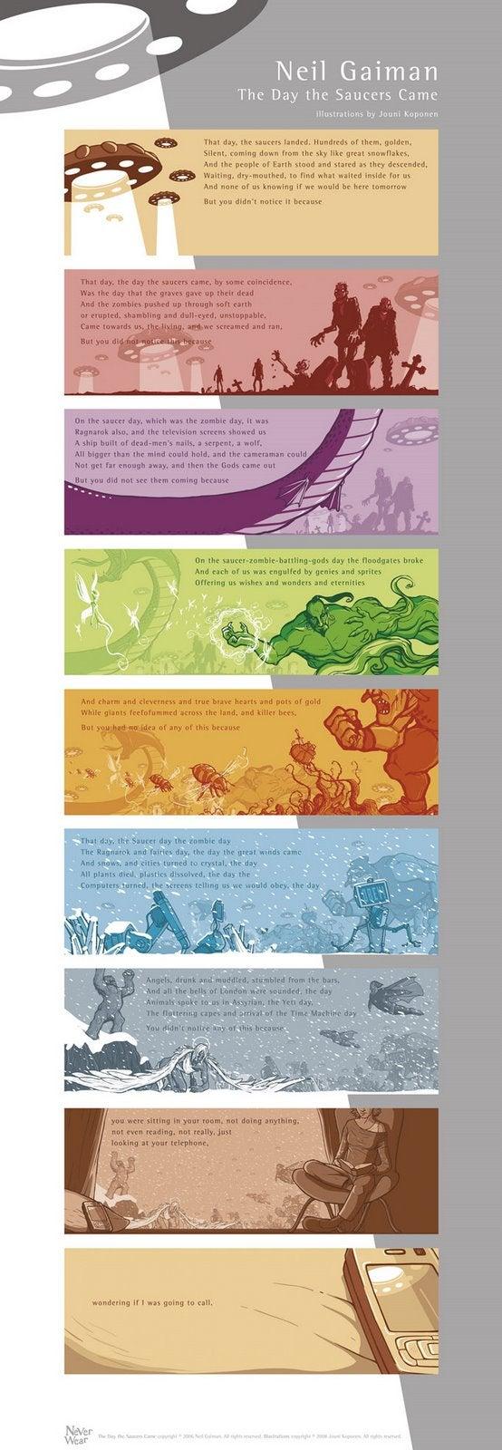 Neil Gaiman's Illustrated Multi-Pronged Apocalypse
