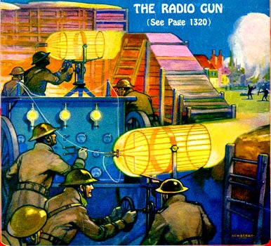The Secret Origin of the Ray Gun in Science Fiction