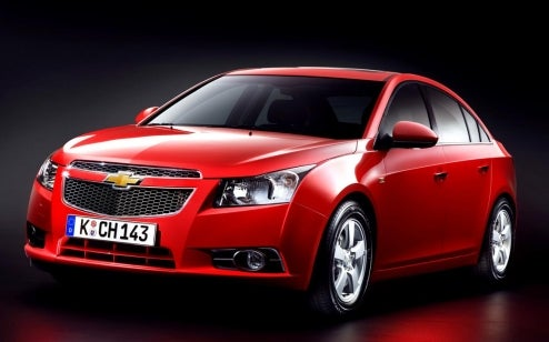 Chevy Cruze Gets Full Detail Reveal Before Paris Unveil
