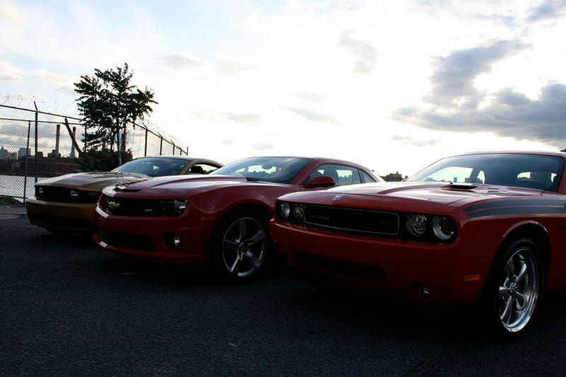 Muscle Car Wars: Camaro vs. Challenger vs. Mustang