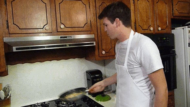 Practice Your Pan Flip Technique with Dried Beans