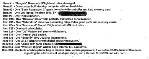 A PS2, Xbox 360 and a Significant Weapons Stash Found in the Home of Newtown Shooter Adam Lanza