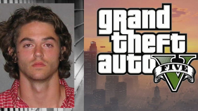 Bro Steals Truck, Kidnaps Woman, Rams Cars, Blames It On GTA V