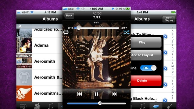 GMusic Is a Native Google Music Player for the iPhone