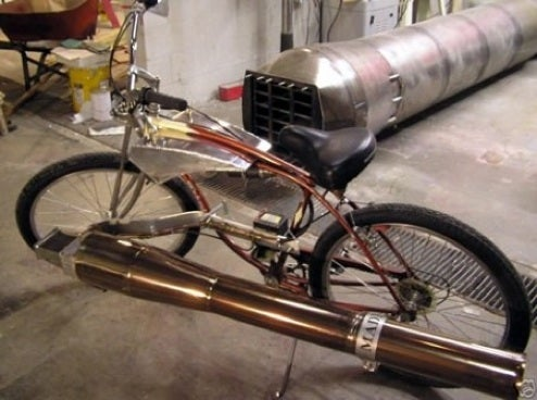 The 75 MPH Bicycle That's Powered by a Jet Engine