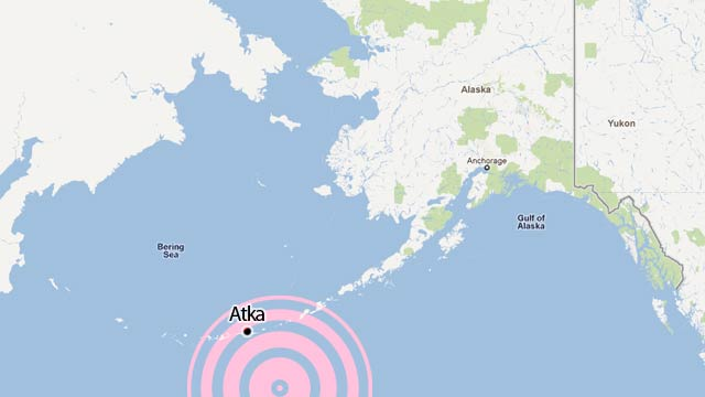 7.1 Earthquake Hits Alaska