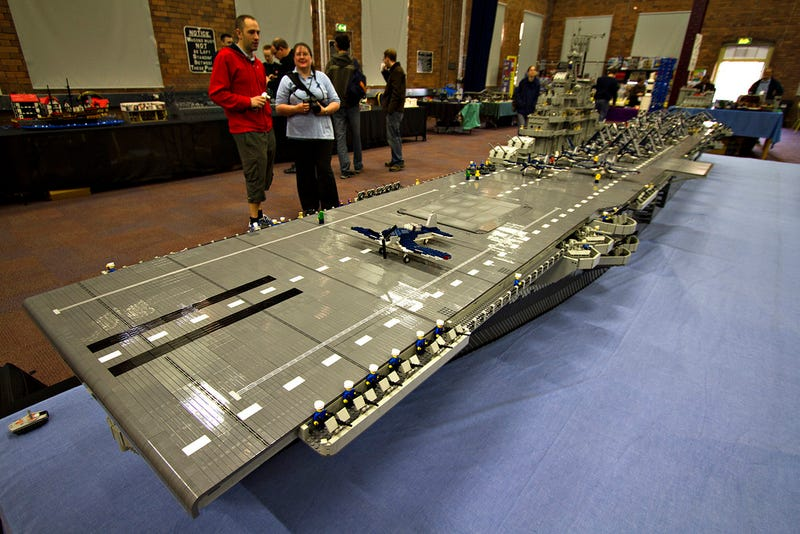 Largest Lego Ship Ever Built Is Bigger Than Three Queen-Sized Beds