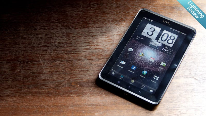 HTC Evo View 4G: Wanna Buy a Giant Phone That Doesn't Make Calls?