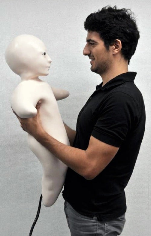 Freakish Spermbot Could Be the Future of Japanese Communication