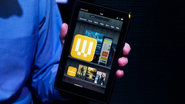 Amazon Kindle Fire Hands-On Gallery