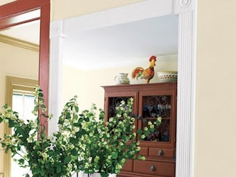Build Your Own Molding-Framed Mirror